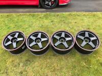 Mitsubishi evo 8 Rota GTR Wheels