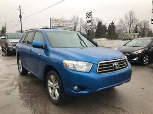 2008 Toyota Highlander Sport - LEATHER - 7 Passenger