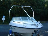 ski boat wake tower stainless steal