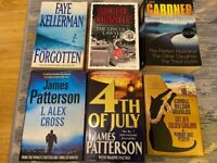 Crime Books from Kellerman, Connelly, Gardner, Patterson, Douglas