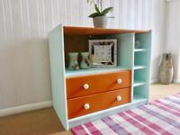 Shabby chic tv trolly/ hallway / clothes / books / toys