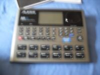 ALESIS SR 18 touch sensitive High definition Drum Machine Brand New still in box. A REAL bargain