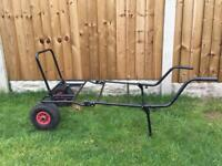 Carp fishing barrow