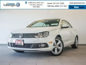 2012 Volkswagen Eos Comfortline+GLASS TOP CONVERTIBLE+HEATED SEA