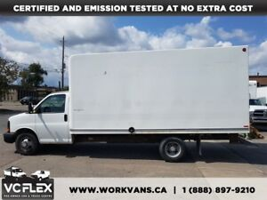 2011 Chevrolet Express 3500 G3500 16Ft V8 Gas + Ramp