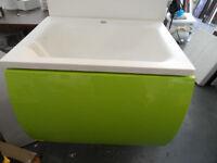 bathstore vanity unit with basin