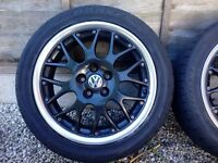 BBS rs 771 5x100 alloy wheels