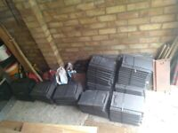 Sandtoft black 20/20 EN1304 roof tiles