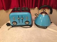 Morphy Richards toaster and electric Kettle