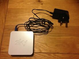 Sky wifi signal booster box, only used for 2 months so in excellent condition