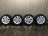 """Genuine 16"""" Volkswagen Golf polished face alloy wheels - 5x112 - Will fit audi, Skoda, Seat."""