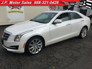 2015 Cadillac ATS Luxury, Sunroof, AWD, Only 57,000km