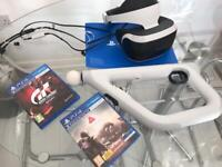 350c433f20e2 PS4 VR bundle with headset   camera
