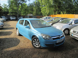 VAUXHALL ASTRA 1.7 CDTI DIESEL 5 DOOR MANUAL 1 YR MOT CAMBELT DONE @ 104K HPI CLEAR WARRANTED MILES