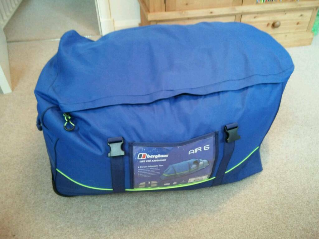 Berghaus Air 6 tent - used once