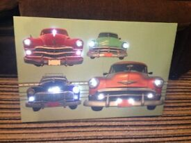 Classic Car Light Up Picture