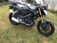 Yamaha MT 125 ABS 16 plate, please read description.