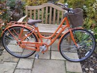 """Ladies Raleigh 'Spirit' Hybrid Bicycle with Accessories, brand new, 17"""" frame inside leg 27 - 32 """"."""