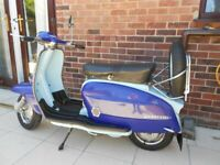 Used, Lambretta li series 3 1963 Mugello 186 + original engine for sale  Lowestoft, Suffolk