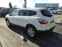 Nissan Qashqai DCI ACENTA PLUS 2 (white) 2013-12-16