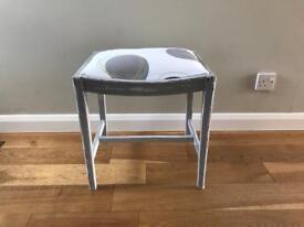 Shabby chic piano stool