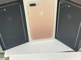 IPHONE 7 PLUS 32GB 128GB UNLOCK BRAND NEW BOX OPEN ON ALL NETWORK AND APPLE WARRANTY