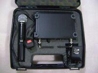 Shure Beta 58A SLX wireless microphone system