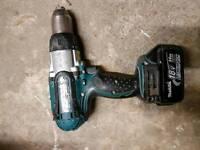 Makita drill lxt 18v