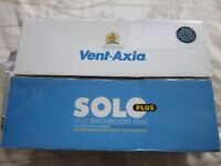Vent Axia Solo Plus T Selv Bathroom/toilet Fan ( NEW )