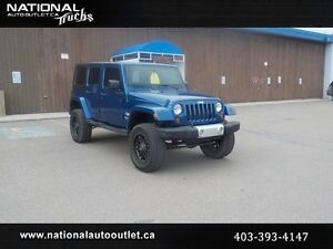 2010 Jeep Wrangler Unlimited Sahara Lifted 4x4