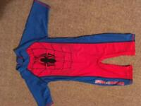 Boys swimsuit age 3 years.Spiderman.