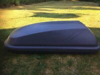 New shape Ford Fiesta Roof Box And Bars