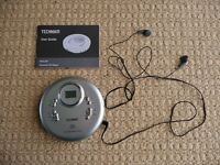 Technika Digital PCD-207 Anti Shock System Personal CD Compact Disc Player / Stereo