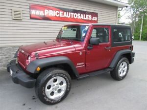 2012 Jeep Wrangler SPORT - HARD TOP
