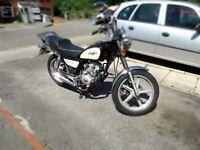 lexmoto vixen 125cc '62 plate mint condition