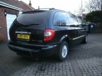 CHRYSLER GRAND VOYAGER LTD AUTO WITH REAR RAMP FOR DISABLED ACCESS