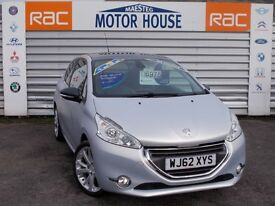 Peugeot 208 (ICE VELVET) FREE MOT'S AS LONG AS YOU OWN THE CAR!!!! (white) 2012