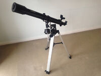Refractor telescope - hardly used - excellent value