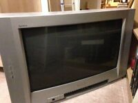 27-inch Widescreen TV with Remote Control