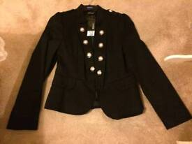 Ladies Mitary Style Cropped Jacket. Size14