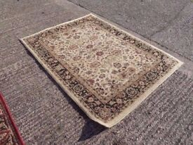 Oatmeal Patterned Rug Delivery Available