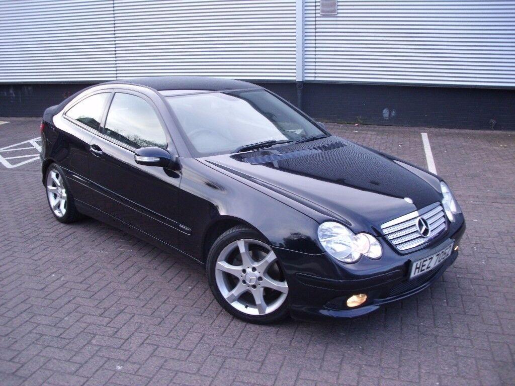 2006 mercedes c180 kompressor coupe amg sport edition for Mercedes benz amg kompressor