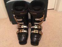 Ski boots - black Rossignol size 24.5