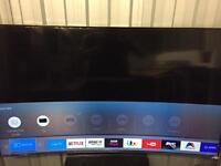 "Samsung 65"" curved 4k UHD SMART LED TV ue65ku6500"