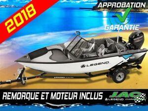 2018 Legend Boats Bateau X16 Mercury 40 ELPT Chaloupe pêche **Pr