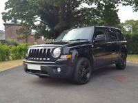 Jeep Patriot 2.2 CRD Limited 4x4 Top Spec (45+ MPG, FSH, Heated Seats, SatNav, HDD, Bluetooth)
