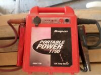 snap on portable power pack