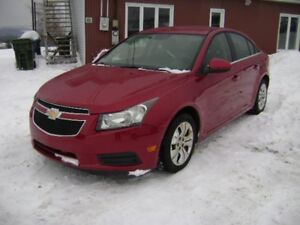 2012 Chevrolet Cruze LT turbo avec 1SA/CRUISE/AC/AUTOMATIQUE