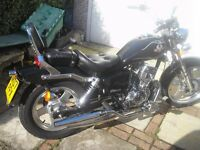 ajs raptor 125. low miles mint condition comes with hat and jacket.etc