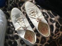 Next men's white shoes size 12/47